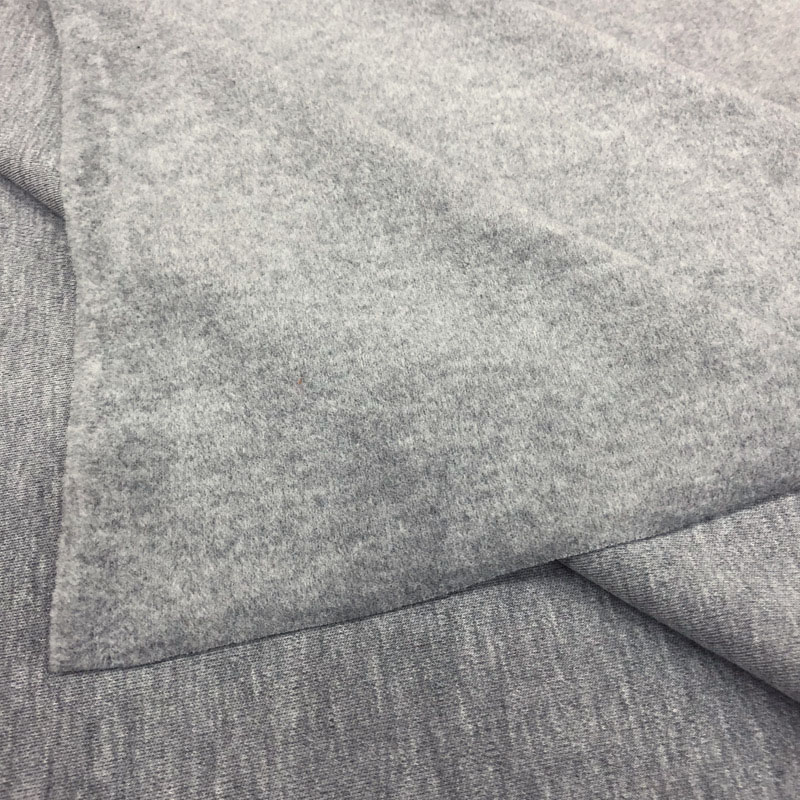 Graphene cotton antistatic thermal underwear fabric